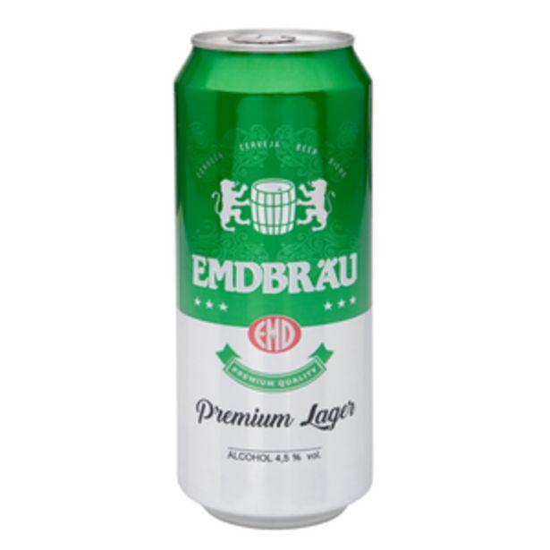 Oferta de Cerveza holandesa lata 50cl por 0,48€