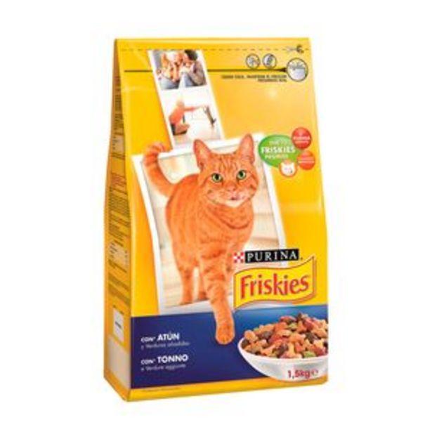 Oferta de Comida de gato Friskies (atún-ver) pte. 1,5kg por 2,99€
