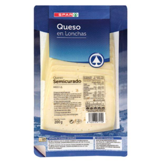Oferta de Queso semicurado mezcla en lonchas pte. 200g por 1,89€