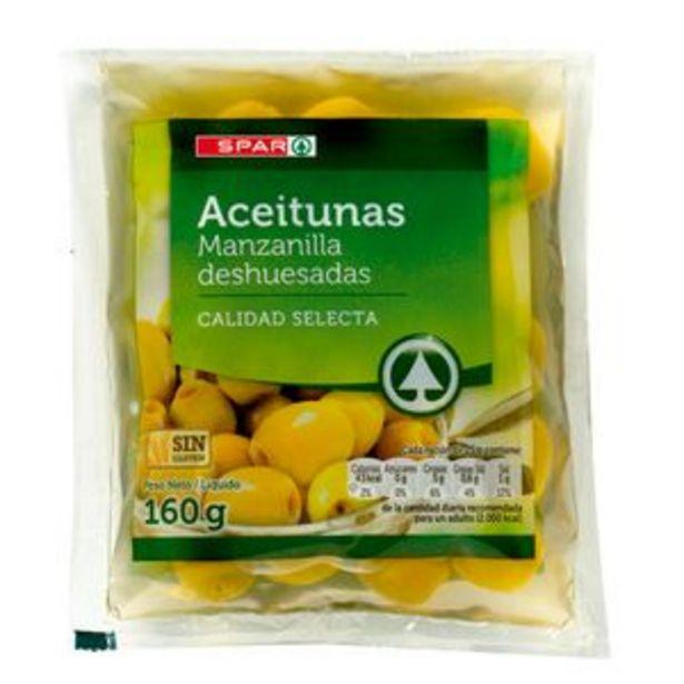 Oferta de Aceituna sin hueso bol. 70g por 0,39€
