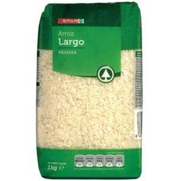 Oferta de Arroz largo bolsa 1kg por 0,89€