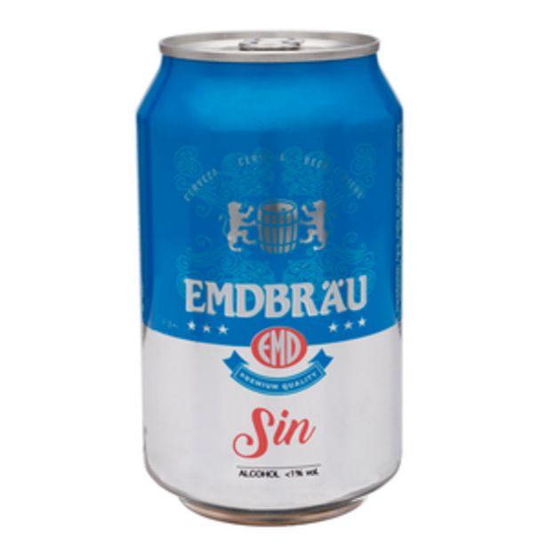 Oferta de Cerveza holandesa sin alcohol lata 33cl por 0,3€