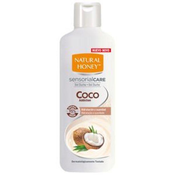 Oferta de Gel de baño aroma a coco bot. 650ml por 1,65€