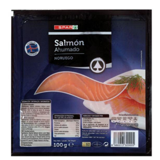 Oferta de Salmón ahumado noruego pte. 100g por 2,99€