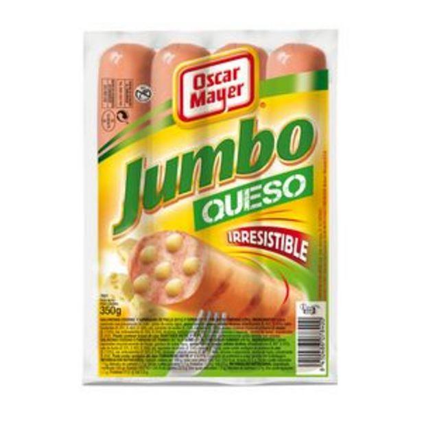 Oferta de Salchichas Jumbo con queso pte. 350g por 1,69€