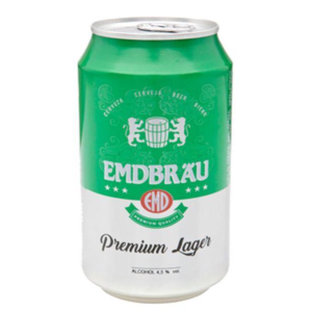 Oferta de Cerveza holandesa lata 33cl por 0,29€