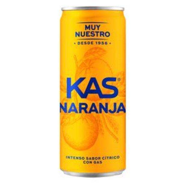 Oferta de Refresco de naranja lata 33cl por 0,55€