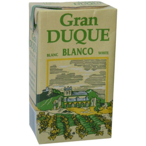 Oferta de Vino blanco brik 1l por 0,89€