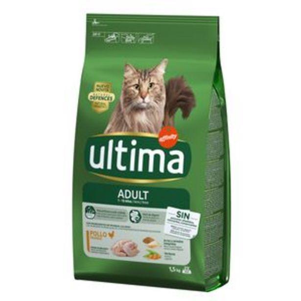 Oferta de Comida para gatos Última pollo bol. 1,5g por 7,85€