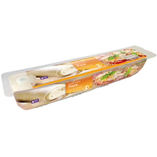 Oferta de Masa de pizza refrigerada pte. 260g por 1,45€