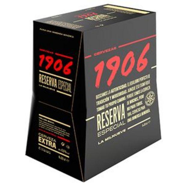 Oferta de Cerveza extra 1906 bot. P6x33cl por 5,95€