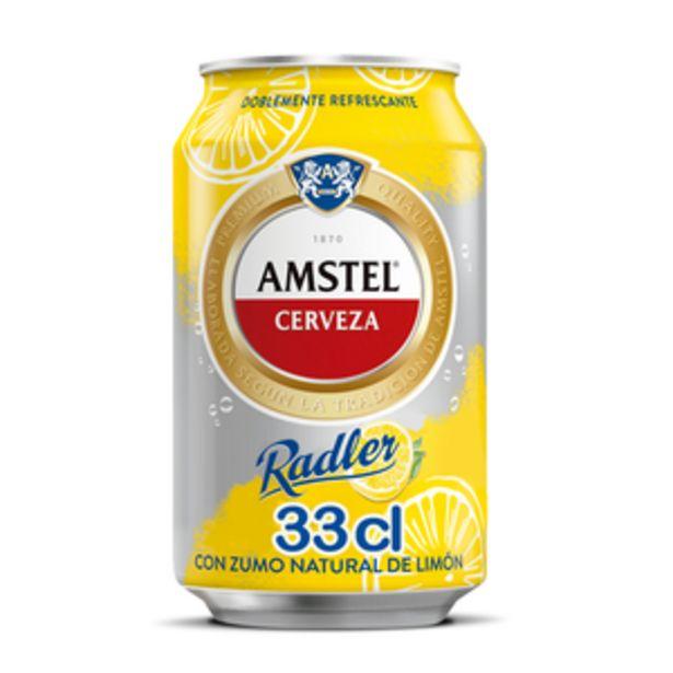 Oferta de Cerveza Radler limón lata 33cl por 0,62€
