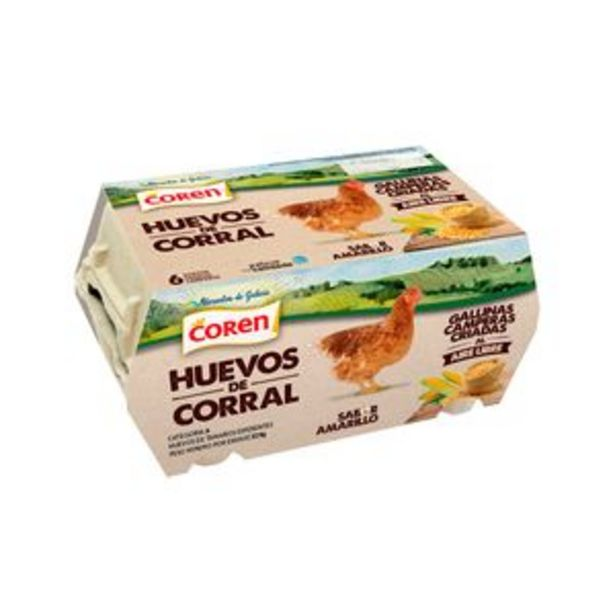 Oferta de Huevo campero 1/2 docena por 1,59€