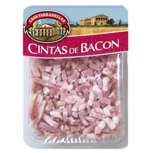 Oferta de Bacon en cintas pte. 150g por 1,75€