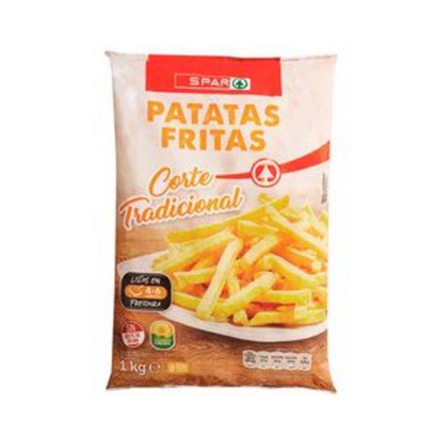 Oferta de Patatas fritas ultra congeladas bol. 1kg por 1,25€