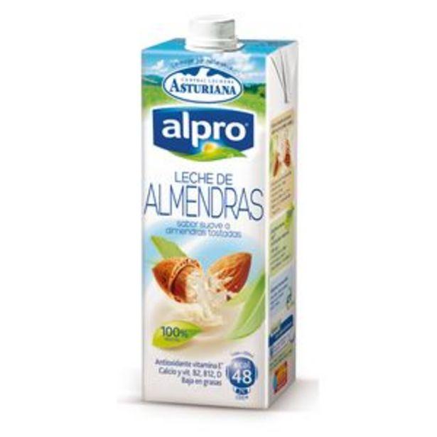 Oferta de Bebida Alpro de almendras brik 1l por 1,85€