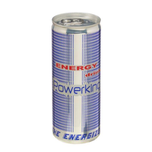 Oferta de Bebida energética lata 25cl por 0,49€