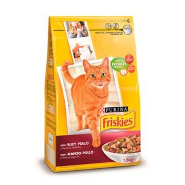 Oferta de Comida de gato Friskies (bu-po-ver) pte. 1,5kg por 2,99€