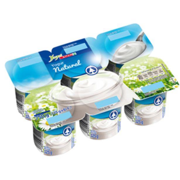 Oferta de Yogur natural p6x125g por 0,91€
