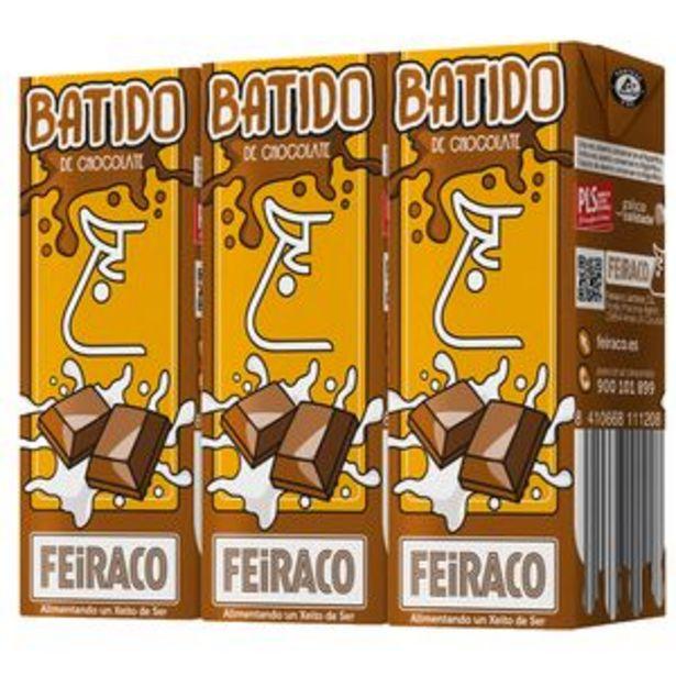 Oferta de Batido de chocolate p3x200ml por 0,69€