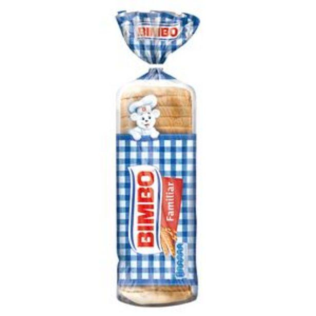Oferta de Pan de molde bol. 700g por 1,69€