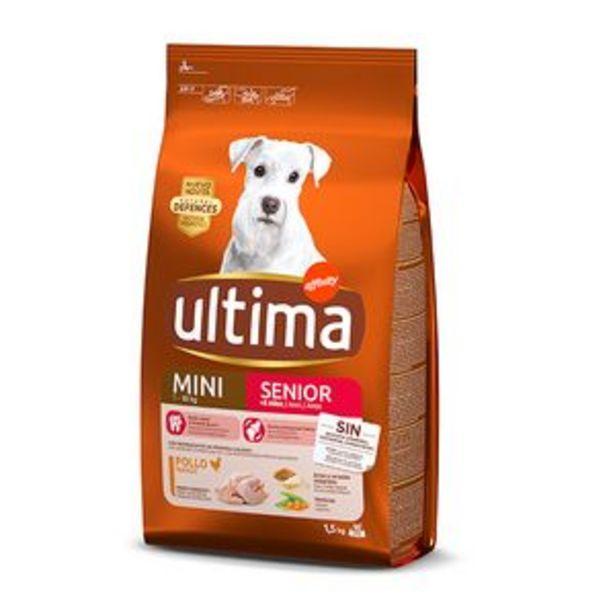 Oferta de Comida para perros Última mini senior pte. 1,5kg por 7,5€