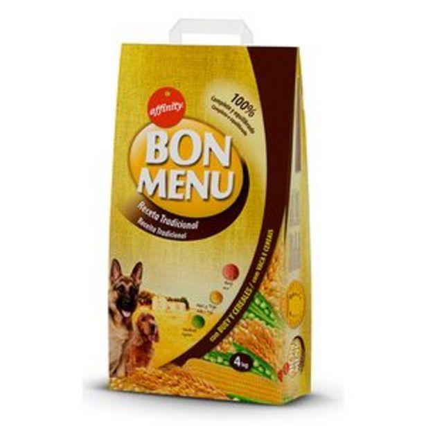 Oferta de Comida para perros Bon Menu tradicional bol. 4kg. por 5,15€