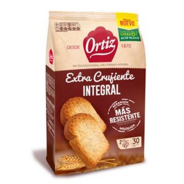 Oferta de Pan tostado integral pte. 324 g 30ud. por 1,79€