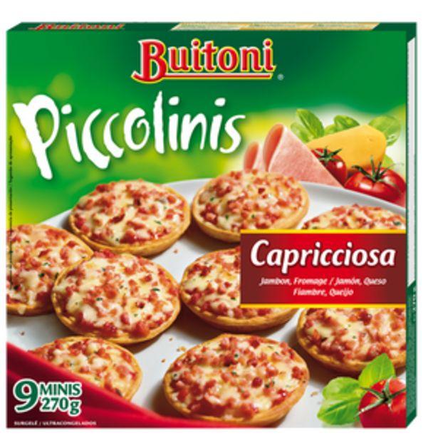 Oferta de Piccolini prosciuto y formaggio bol. 270g por 2,49€
