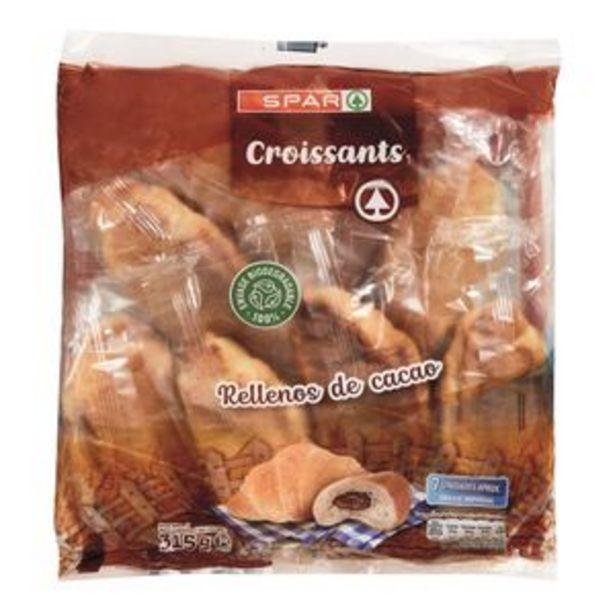 Oferta de Croissant rellenos de chocolate bol. 315g por 1€