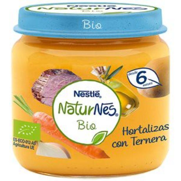 Oferta de Potito Naturnes bio hortaliz-ternera tarr. 190g por 1,59€
