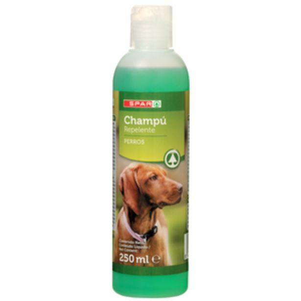 Oferta de Champú perros natural con repelente bot. 250ml por 2,25€