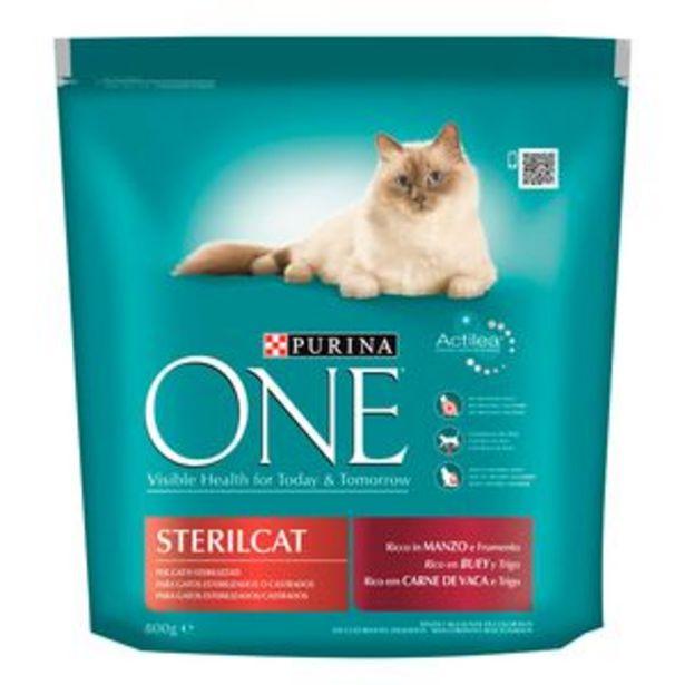 Oferta de Comida de gato One estirilizados buey bol. 800g por 3,5€