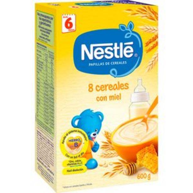 Oferta de Papilla de cereales 8 cereales con miel pte. 600g por 3,35€