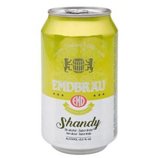 Oferta de Cerveza holandesa shandy sabor limón lata 33cl por 0,39€