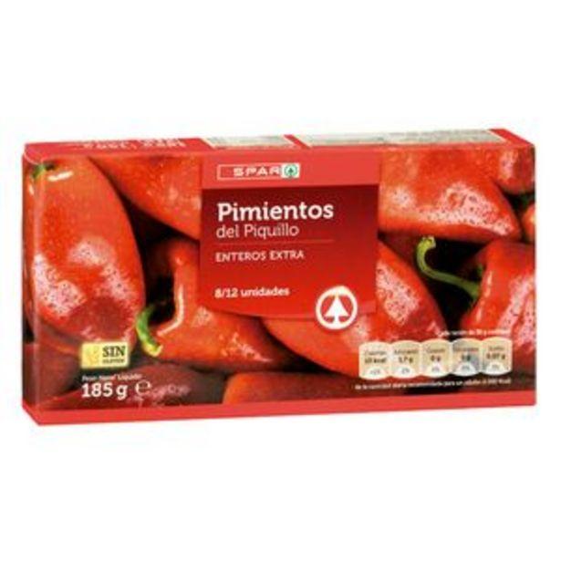 Oferta de Pimiento piquillo entero Fiesta fco. 212ml por 0,89€