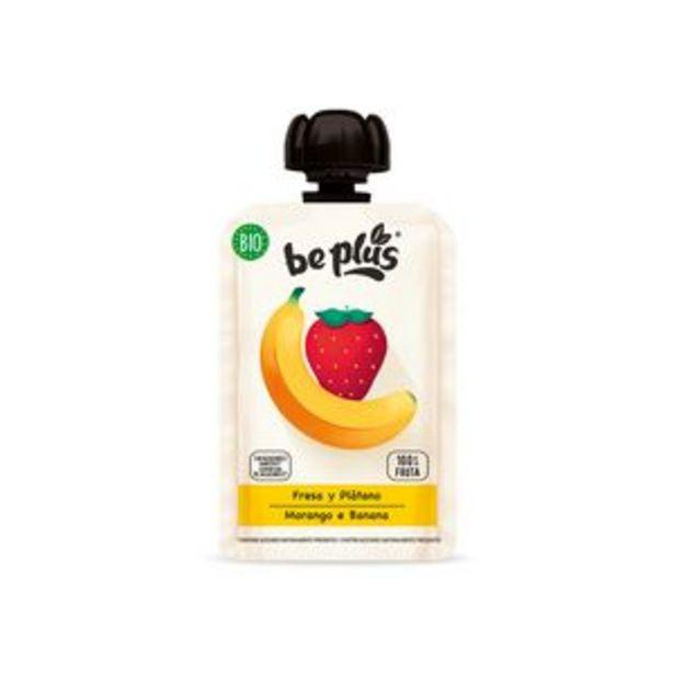 Oferta de Pouch fresa y plátano bio 100g por 0,87€