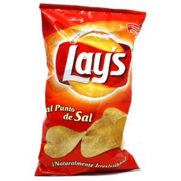 Oferta de Patatas fritas al punto de sal bol. 160g por 1€