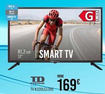 Oferta de TD SYSTEMS TV K32DLG12HS por 169€