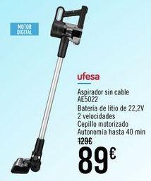 Oferta de Ufesa Aspirador sin cable AE5022 por 89€