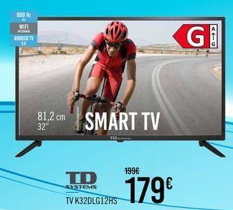 Oferta de TD SYSTEMS TV K32DLG12HS por 179€