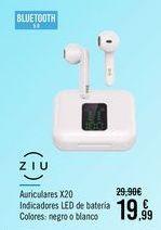 Oferta de ZIU Auriculares X20 por 19,99€
