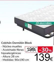 Oferta de Colchón Dormilón Block por 139€