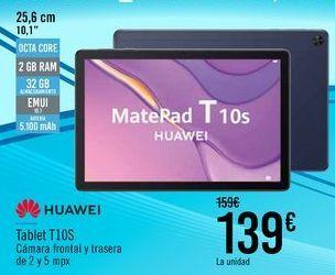 Oferta de HUAWEI Tablet T10S por 139€