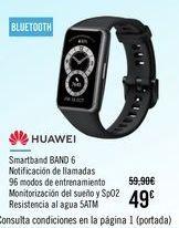 Oferta de HUAWEI Smartband BAND 6 por 45€