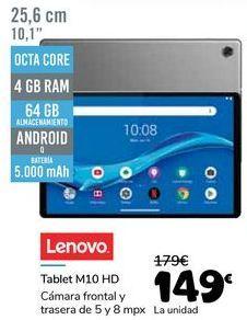 Oferta de LENOVO Tablet M10 HD por 149€