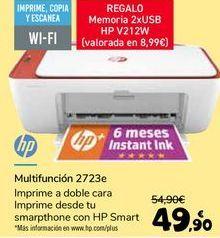 Oferta de HP Multifunción 2723e por 49,9€