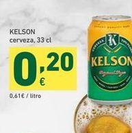 Oferta de KELSON cerveza, 33cl por 0,2€