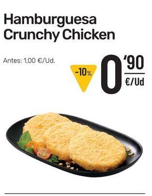 Oferta de Hamburguesas de pollo por 0,9€