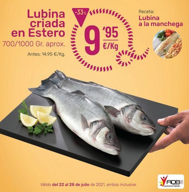 Oferta de Lubina por 9,95€